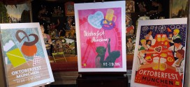 Sieger-Entwürfe Plakatmotive Oktoberfest 2016