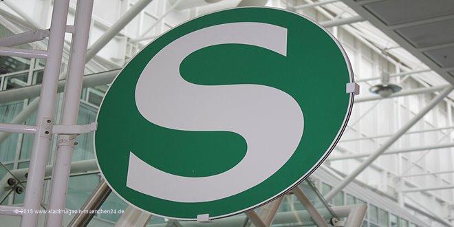 Schild S-Bahn München
