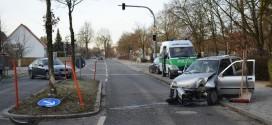 Verkehrsunfall Oberschleißheim