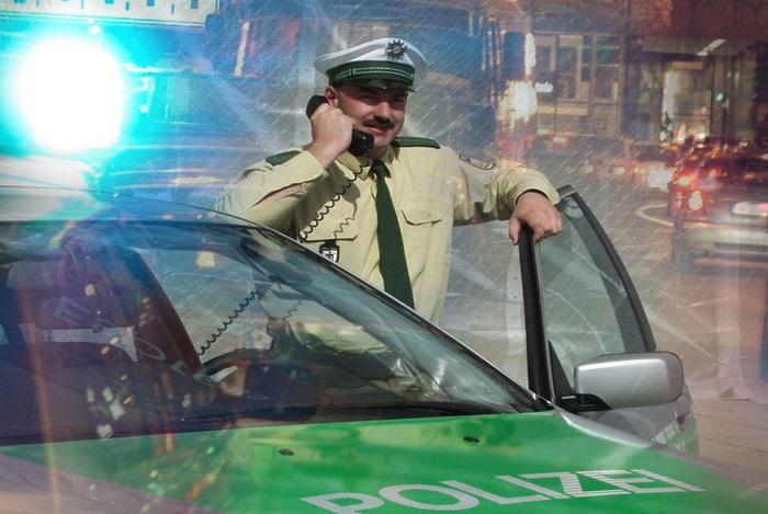 Funkstreife Polizei Bayern
