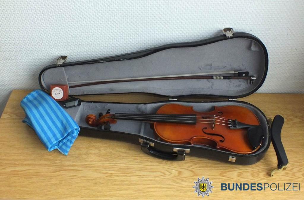 Geige aufgespürt