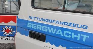 Bergwacht Einsatzfahrzeug
