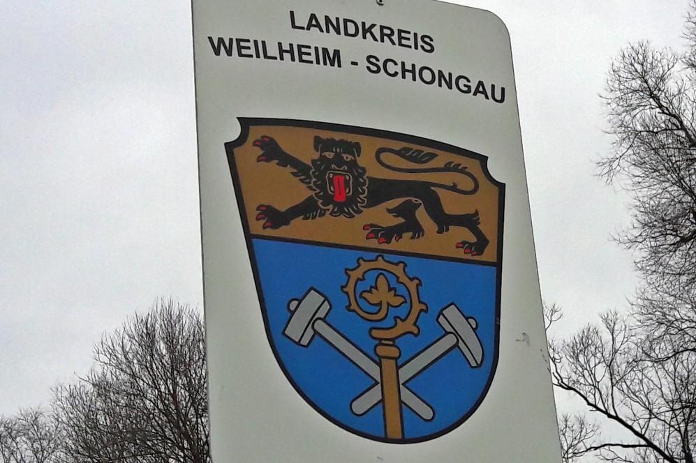 Landkreis Weilheim Schongau Schild2