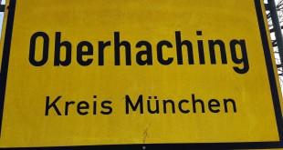 Ortsschild Oberhaching