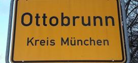 Ortsschild Ottobrunn