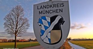 Schild Landkreis München