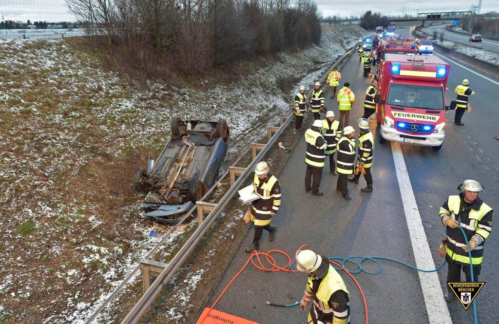 Verkehrsunfall Allacher Tunnel
