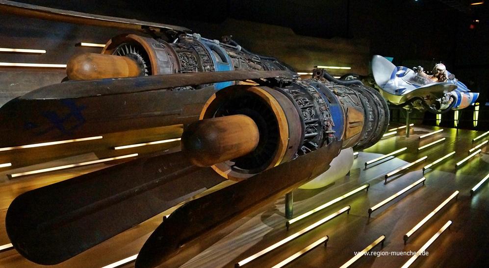 Anakin Skywalker Pod-Rennen Ausstellung Star Wars Identity Olympiapark München
