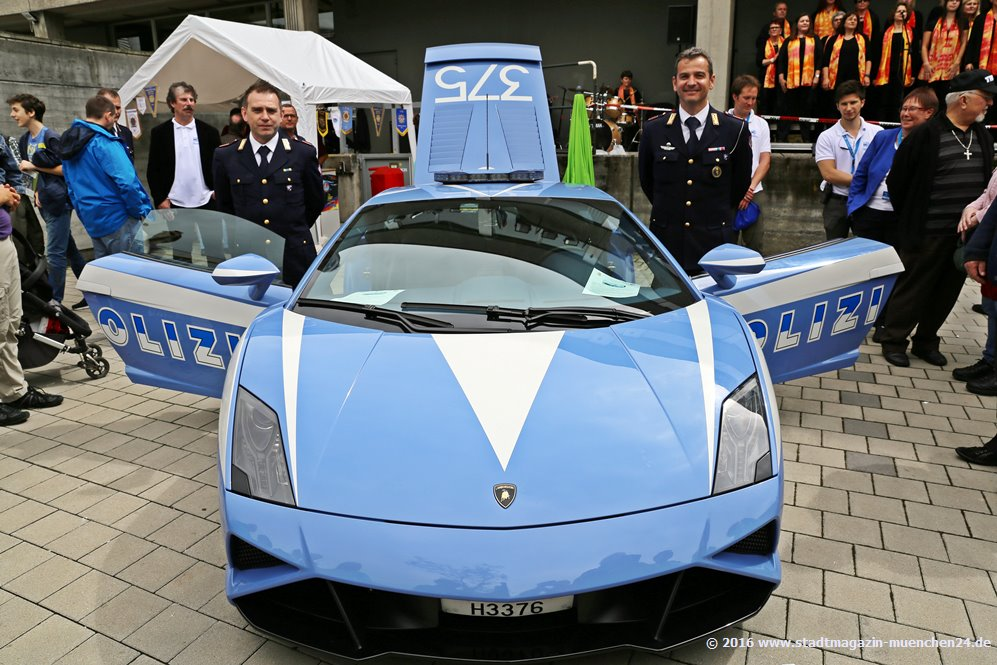 Polizei Lamborghini beim Landeskriminalamt Bayern