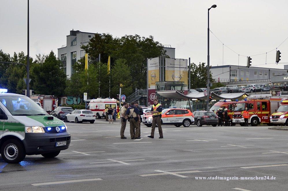 Amoklauf im OEZ München