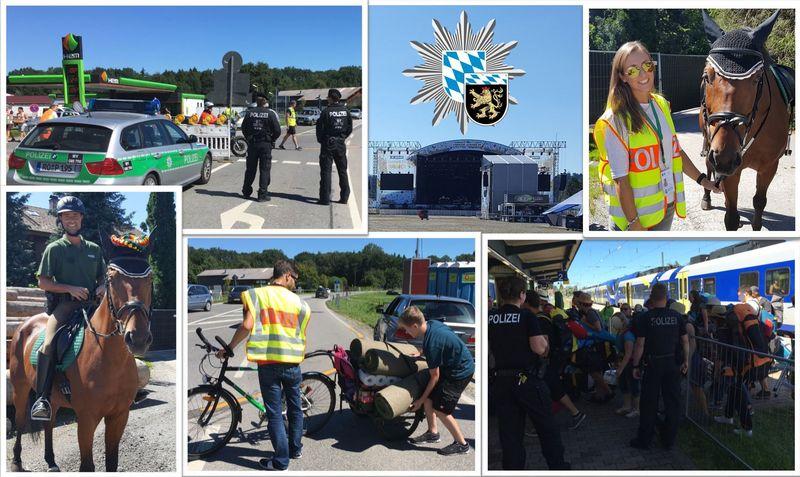 Chiemsee Summer Polizeibilanz Quelle Foto: Polizeipräsidium Oberbayern