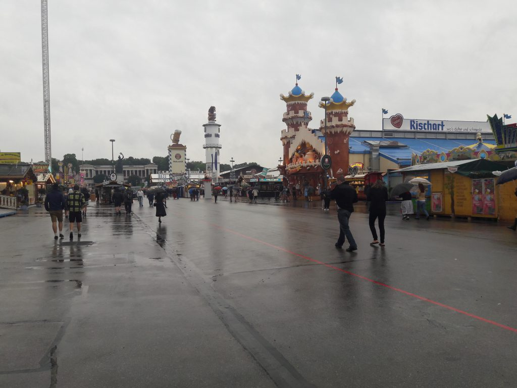 Leeres Oktoberfest 2016 in München