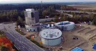 Jochen Schweizer Arena Taufkirchen im Bau Foto: Jochen Schweizer