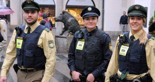 Polizei Bodycam Erprobung in München Quelle Foto Polizei München