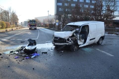 Verkehrsunfall Unterschleißheim Quelle Foto Polizei München