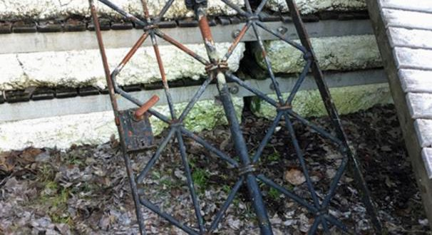 Gestohlenes Tor KZ Dachau in Norwegen entdeckt Quelle Foto PD Oberbayern Nord