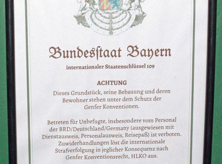 Reichsbürger Bundesstaat Bayern Razzia im Landkreis Erding Quelle Foto Polizei Bayern
