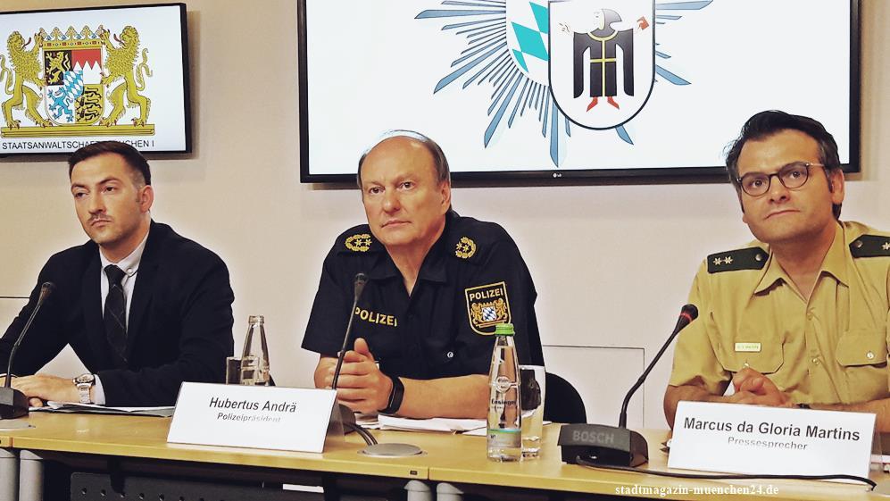 Pressekonferenz Polizei zur Schießerei in Unterföhring