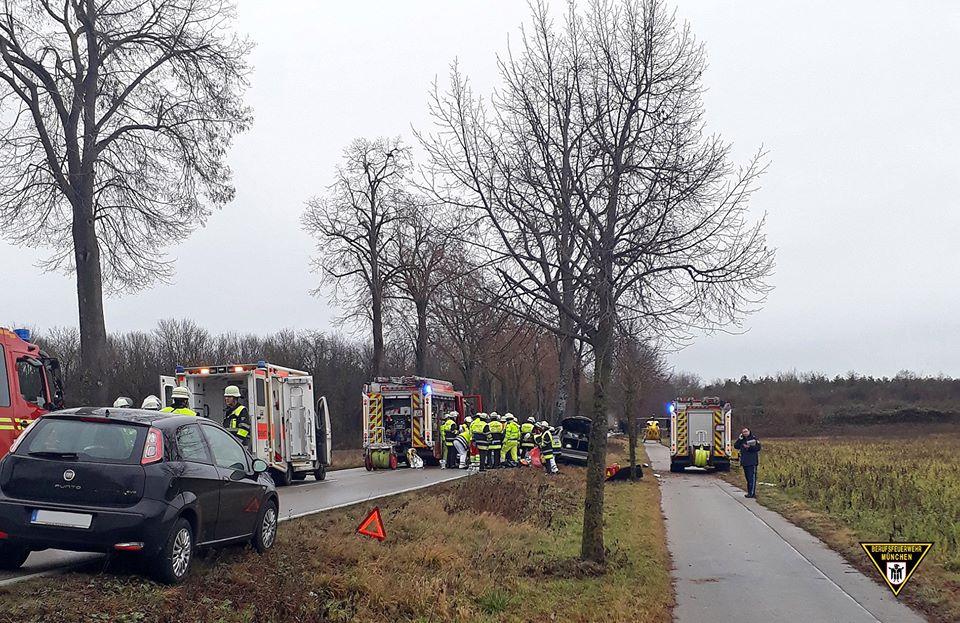 Tödlicher Verkehrsunfall Oberschleißheim