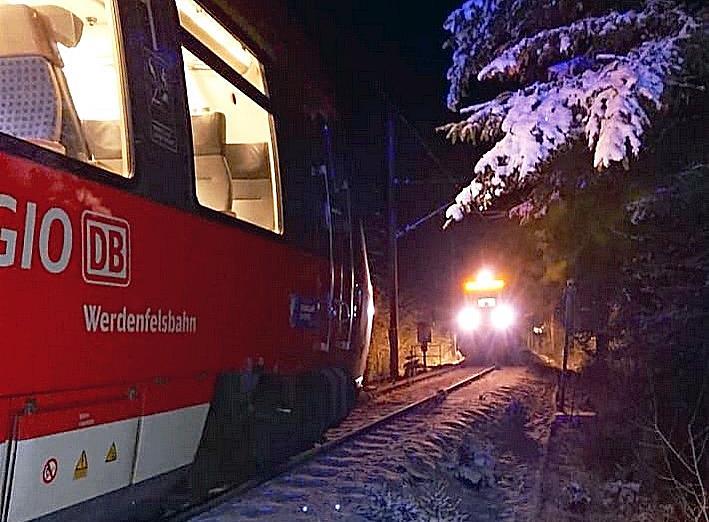 Zugunglück in der Nähe von Garmisch verhindert