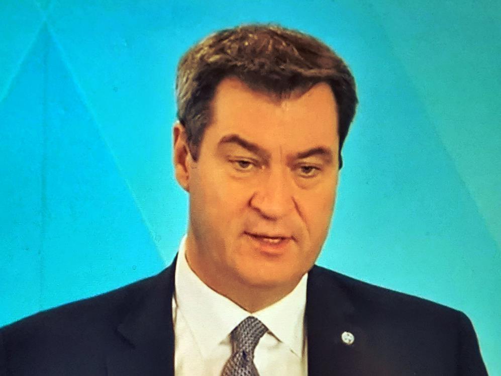 Ministerpräsident Markus Söder zur Coronakrise