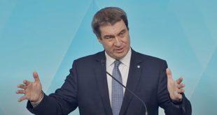 Ministerpräsident Markus Söder zum Fahrplan der Lockerungen zur Coronakrise in Bayern