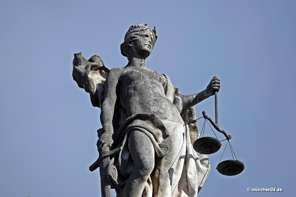 Justitia Justizpalast München